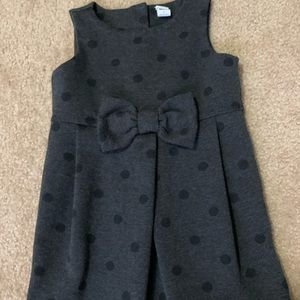 Janie and Jack Charcoal color dress 3T